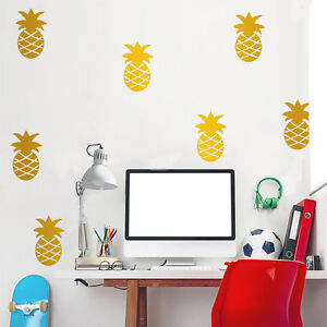 Set-of-32-Pcs-Pineapple-Wall-Stickers-Kids-Decal-Vinyl-Art-Decor-Mural-Removable