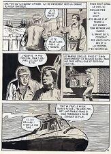RIAL LE LOUP ARTISTE DE CINEMA PLANCHE ORIGINALE ARTIMA/AREDIT PAGE 18