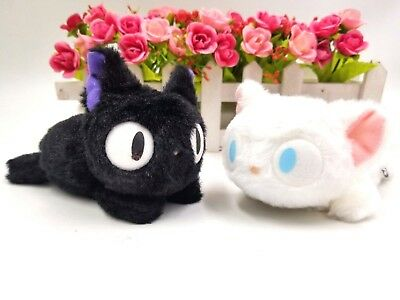 """8.5/"""" Cute KIKI/'S DELIVERY SERVICE JIJI CAT Plush Stuffed Doll Toys with Tag"""