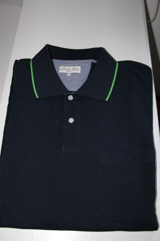 ae4f35139ed ... promo code for xxxl polo t shirt black blue str. xxxl 66ff1 4c29d