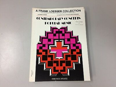 The Frank Loesser Songbook Sheet Music P V G Composer Collection NEW 000444442