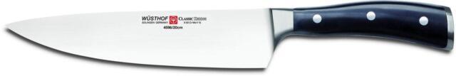 Wusthof Classic Ikon 8-inch Cook's Knife Black 4596 20cm
