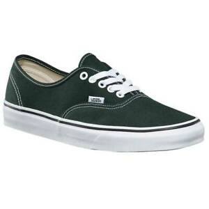 Vans-Authentic-Scarab-Green-True-White-Womens-Skate-Shoes