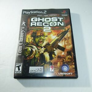 Tom-Clancy-039-s-Ghost-Recon-2-Sony-PlayStation-2-2004-complete