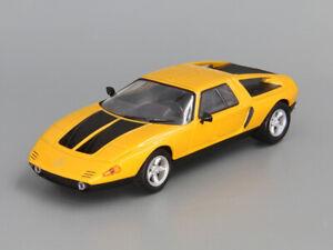 Mercedes-Benz-C111-oro-1970-ano-1-43-escala-Diecast-Coche-Modelo-Coleccionable-Rara