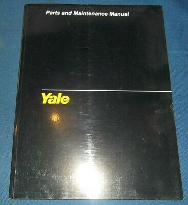 YALE MP MPB 040 AC FORKLIFT LIFT TRUCK PARTS SERVICE MAINTENANCE MANUAL 1508 EBay