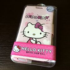 For Samsung Galaxy Note 3 -PINK HELLO KITTY LEATHER WALLET POUCH FLIP CASE COVER