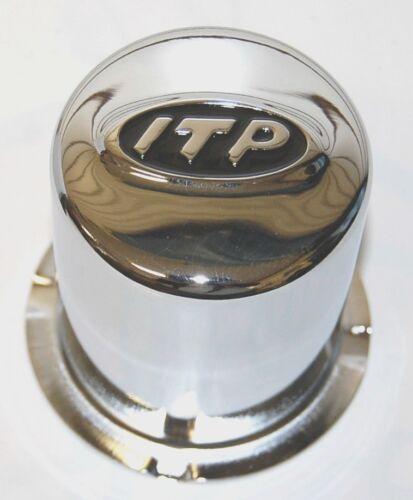 """CAP CHROME 10/"""" 4//4-12/"""" 4//110 SET OF 4 FITS ATV/'S * *ITP- PART# SM1300BX"""
