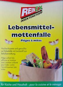 4-Stueck-Reinex-Lebensmittelmottenfalle-Lebensmittel-Motten-Falle-Pheromonfalle