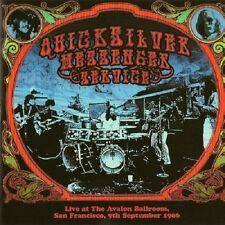Quicksilver Messenger Service Live Avalon Ballroom September 1966 CD NEW SEALED