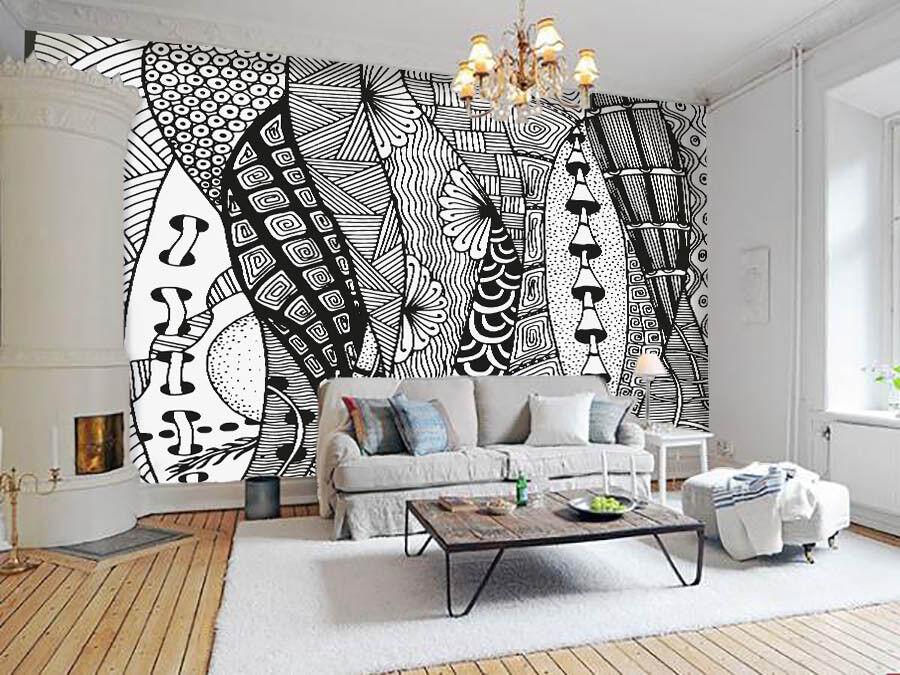 3D Klassischer Stil Muster 7 Tapete Wandgemälde Tapete Tapeten Bild Familie DE