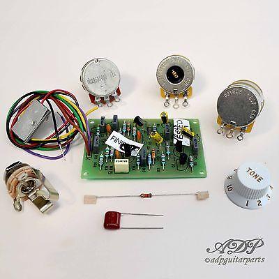 [DIAGRAM_5FD]  Fender Mid Bost Kit 25DB Eric Clapton TBX Control Pot Wiring Diagram  0057577000 717669160210 | eBay | Wiring Diagram For Fender Clapton Mid Boost Kit |  | eBay