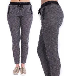 e858c6575f Details about Girls Women's Joggers Trousers Ladies Bottoms Jogging Gym  Pants Comfy Pants Size