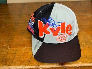 VINTAGE-Kyle-Petty-42-Snapback-Deadstock-Hat-One-Size