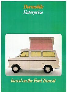 aa46aee147 Ford Transit Mk1 Dormobile Enterprise Caravan 1971 UK Market Foldout ...