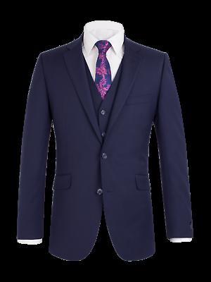 Efficiente Scott Da Uomo Premium Classic Fit Inchiostro Blu 3 Pezzi Combinazione Vestito-mostra Il Titolo Originale Nutriente I Reni Alleviare I Reumatismi