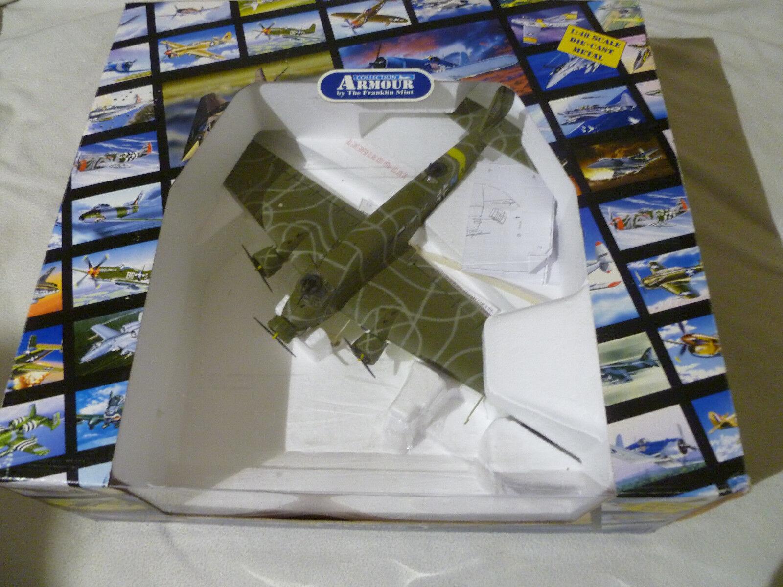 online al mejor precio En Caja Caja Caja Franklin Mint Avión Colección armadura 1 48 alemán JU-52 Luftwaffe Junkers  Todo en alta calidad y bajo precio.