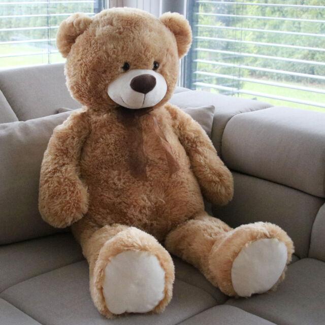 XXL Teddybär Bär 1m Kuscheltier Teddy kuschelweich Geburtstag Geschenk Ostern