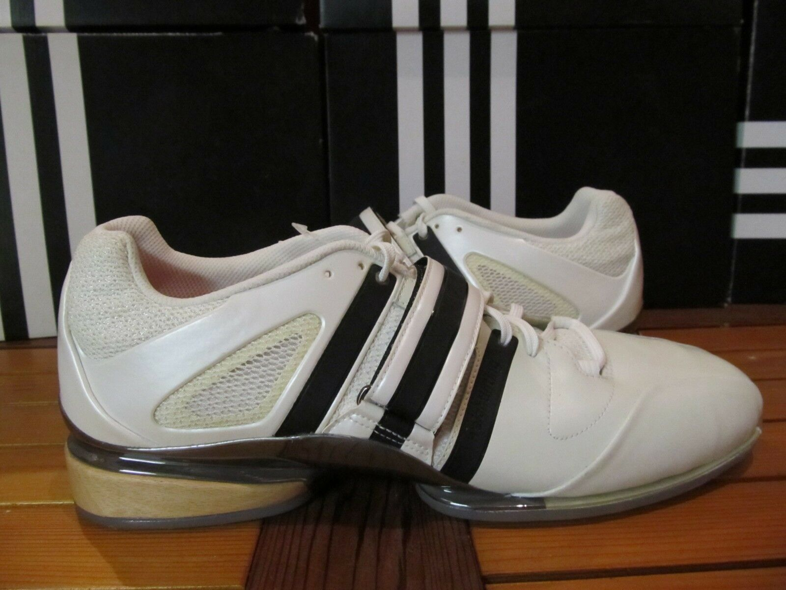 NEW Adidas AdiStar Weightlift 2008 Olympic Weightlifting shoes 14 561107 adipower