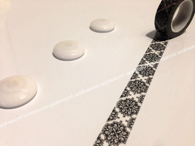 Japanese Washi Tape 15mmx10m Antique Lace Motif #W2471
