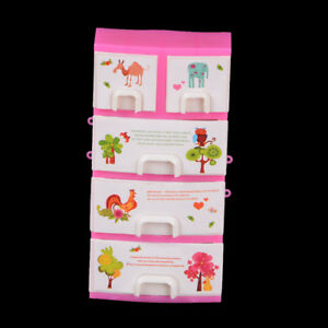 Doll-Accessories-Baby-Toys-New-Printing-Closet-Wardrobe-Cabinet-For-Doll-A-AU