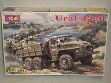 ICM 1/35 Scale Ural-4320 Soviet Army Truck