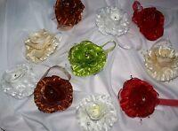 Super Blumen Magnet Raffhalter ,gardinen , Vorhang , Verschiedene Farben , Neu