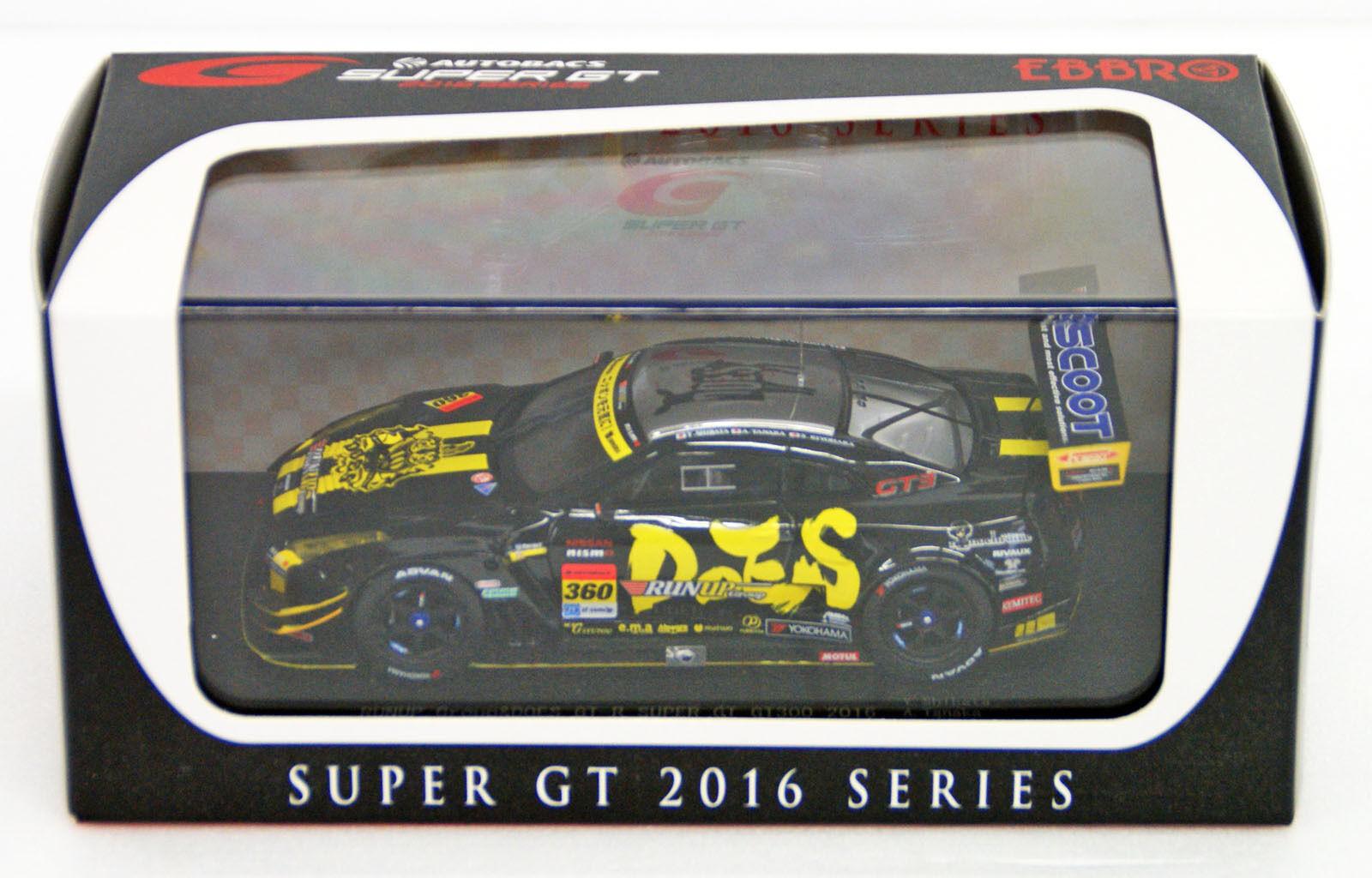EBBRO 45403 remontée groupe & ne GT-R super GT GT300 2016 No.360 échelle 1 43