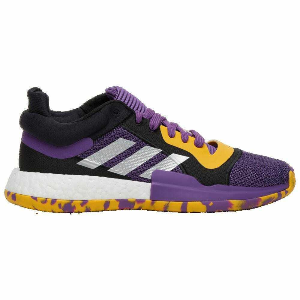 Adidas Marquee Boost Low Active Purple Legend Purple Bold gold Men's G27746
