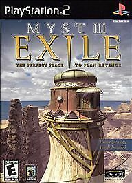 myst iii exile sony playstation 2 2002 8888320319 ebay