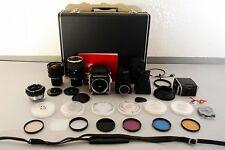ZENZA BRONICA EC 6x6 Medim Format Camera w/ Nikon 50.75.200mm From Japan #1689