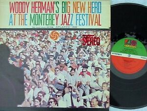 Details about Woody Herman's Big New Herd at Monterey Jazz Festival Reissue  US LP EX Atlantic