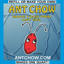 ANT CHOW refills TWO or MORE gel ant farms!
