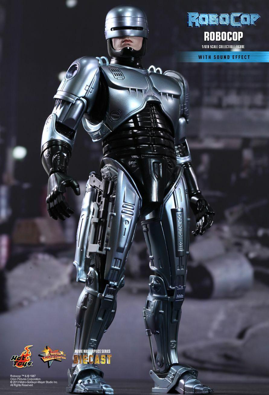 Hot Toys 1 6 Robocop MMS202D04 With Sound Effect Alex Murphy Diecast Figure