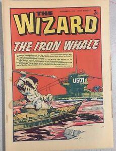 THE WIZARD weekly British comic book November 3, 1973