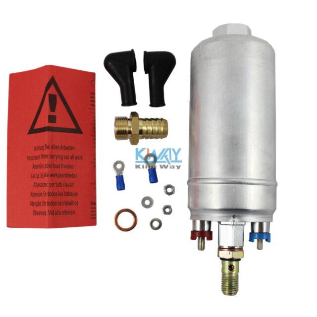 300LPH Universal External Inline Fuel Pump Replacing 044 for BOSCH 0580254044