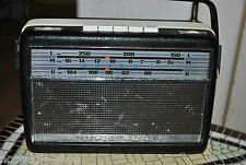50er 60er Jahre Radio NordmendeTransita de lux, Batterie Betrieb, 50s 60s