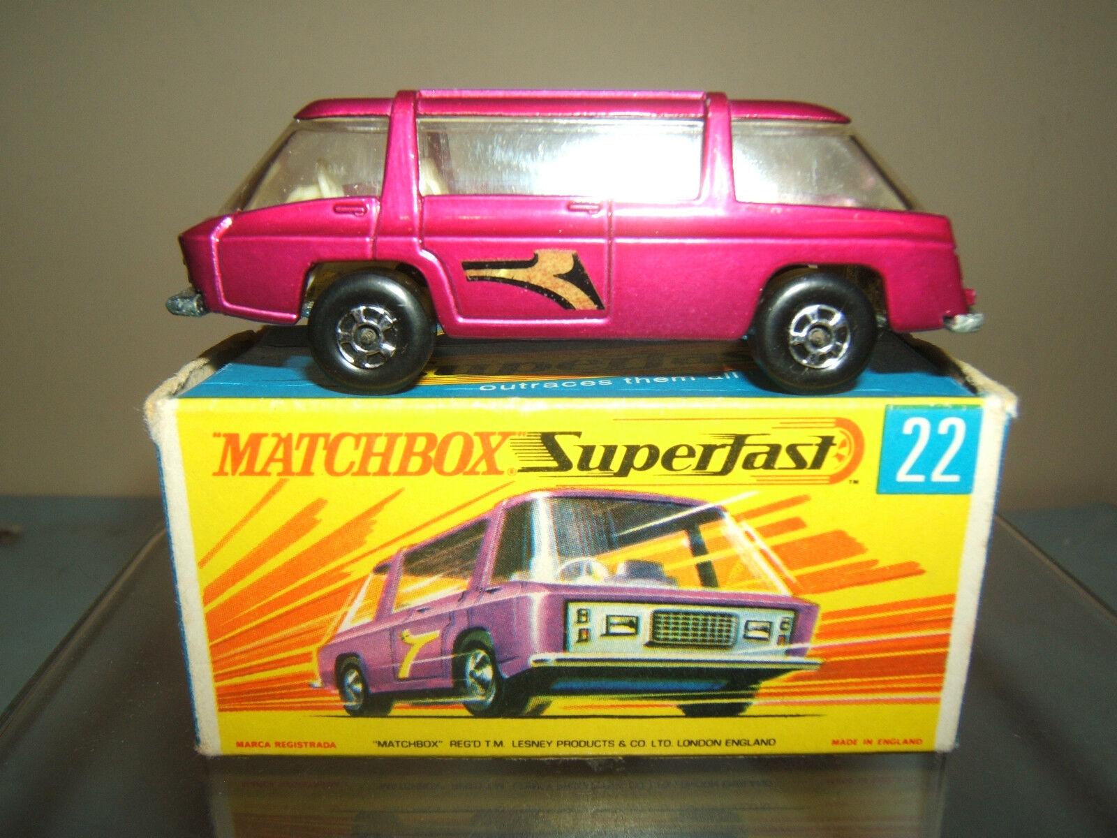 MATCHBOX SUPERFAST  MODEL No.22d FREEMAN INTERCITY     VN  MIB