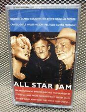 ALL-STAR JAM cassette Kris Kristofferson country Willie Nelson NEW Mel Tillis