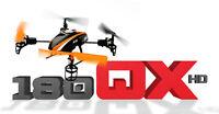 E-flite Blade 180 Qx Hd Quadcopter With Upgraded Efc™-721 Camera Bnf & 4gb Sd