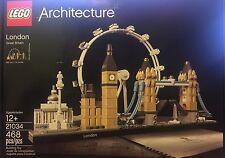 Lego Architecture - London - 21034 - 468 Pcs Great Britain Damaged Box New