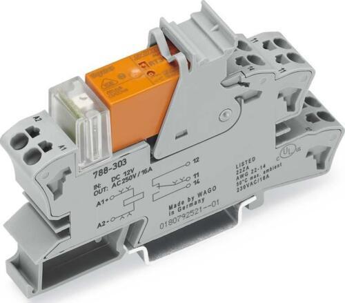 WAGO Kontakttechnik Stecksockel m.Relais 788-304 IP20 Schaltrelais Stecksockel
