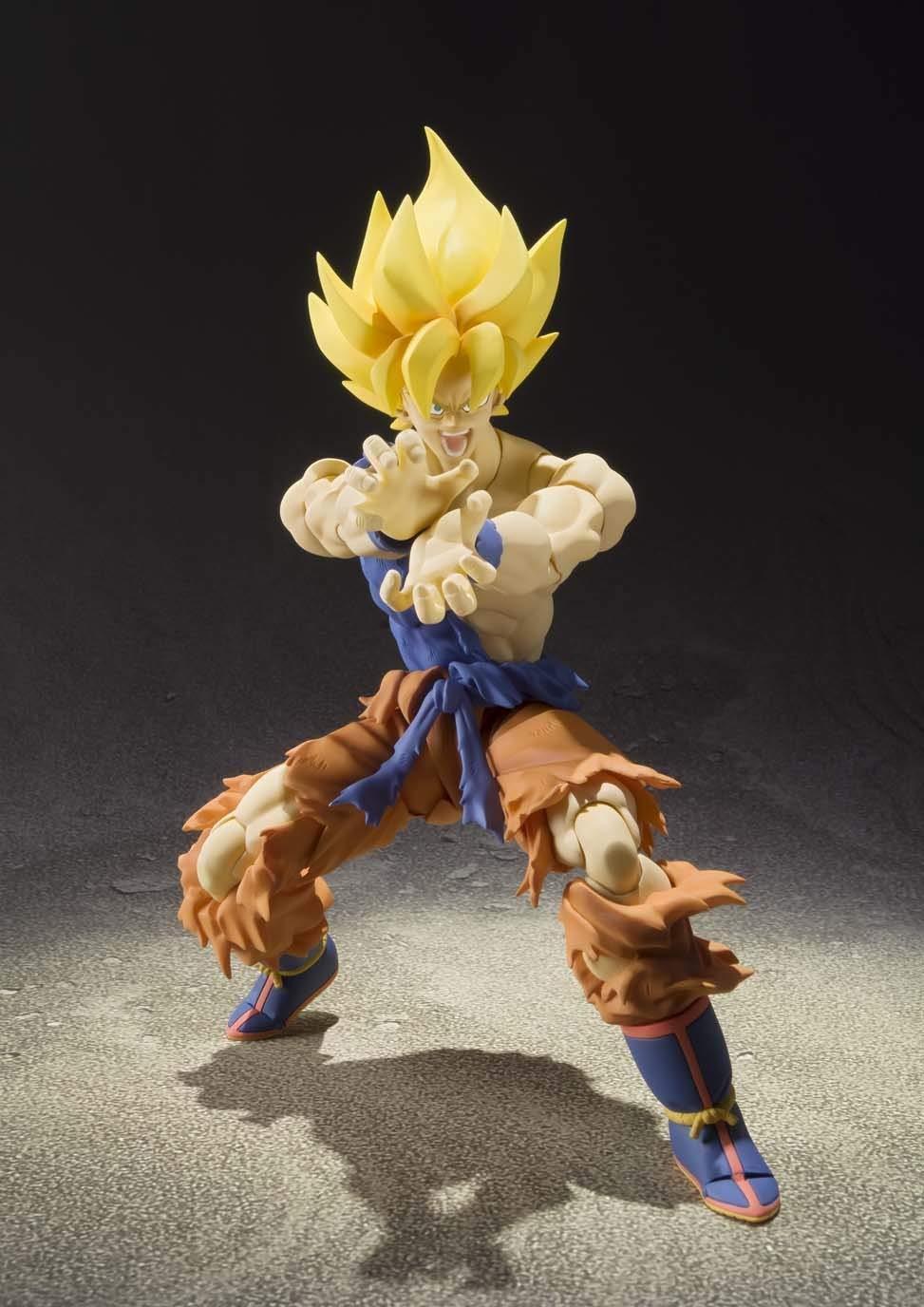 S.H.Figuarts Dragon Ball Z Super Saiyan Goku 160mm Figure