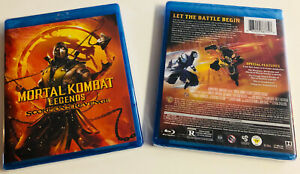 Mortal Kombat Legends Scorpion S Revenge Blu Ray Dvd Digital