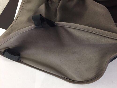 Bugaboo Frog Baby Stroller Underseat Storage Bag Basket Accessory Pram Gray