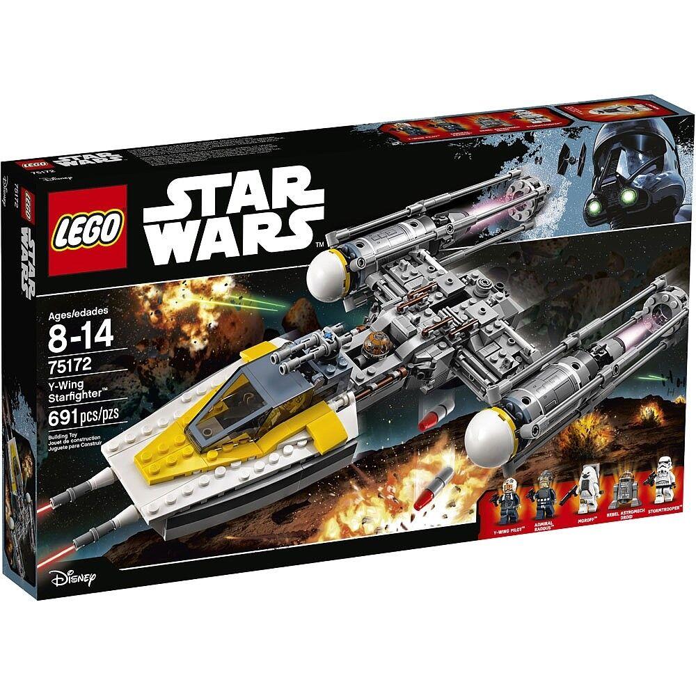 LEGO 75172 Star Wars Y-Wing Starfighter è * NO Minifigures * Nuovo Di Zecca in Scatola