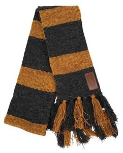Harry-Potter-FANTASTIC-BEASTS-Newt-Scamander-Hufflepuff-Costume-Knit-Gray-Scarf