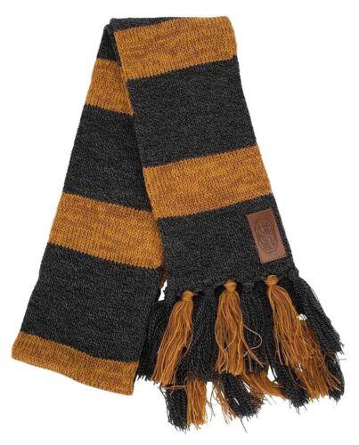 Harry Potter FANTASTIC BEASTS Newt Scamander Hufflepuff Costume Knit Gray Scarf