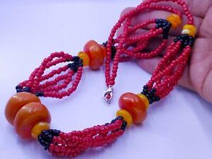 collier ambre Maroc Berbères -Moroccan Berber necklace jewel