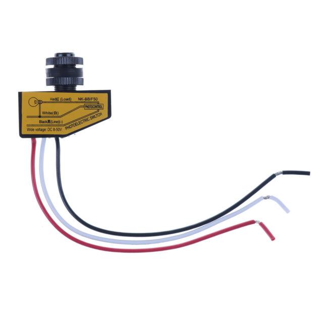 Automatic Light Control Sensor Dc12v 24v 36v 48v Dusk To